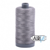 Aurifil 28 Cotton Thread - 2625 (Mid Grey)